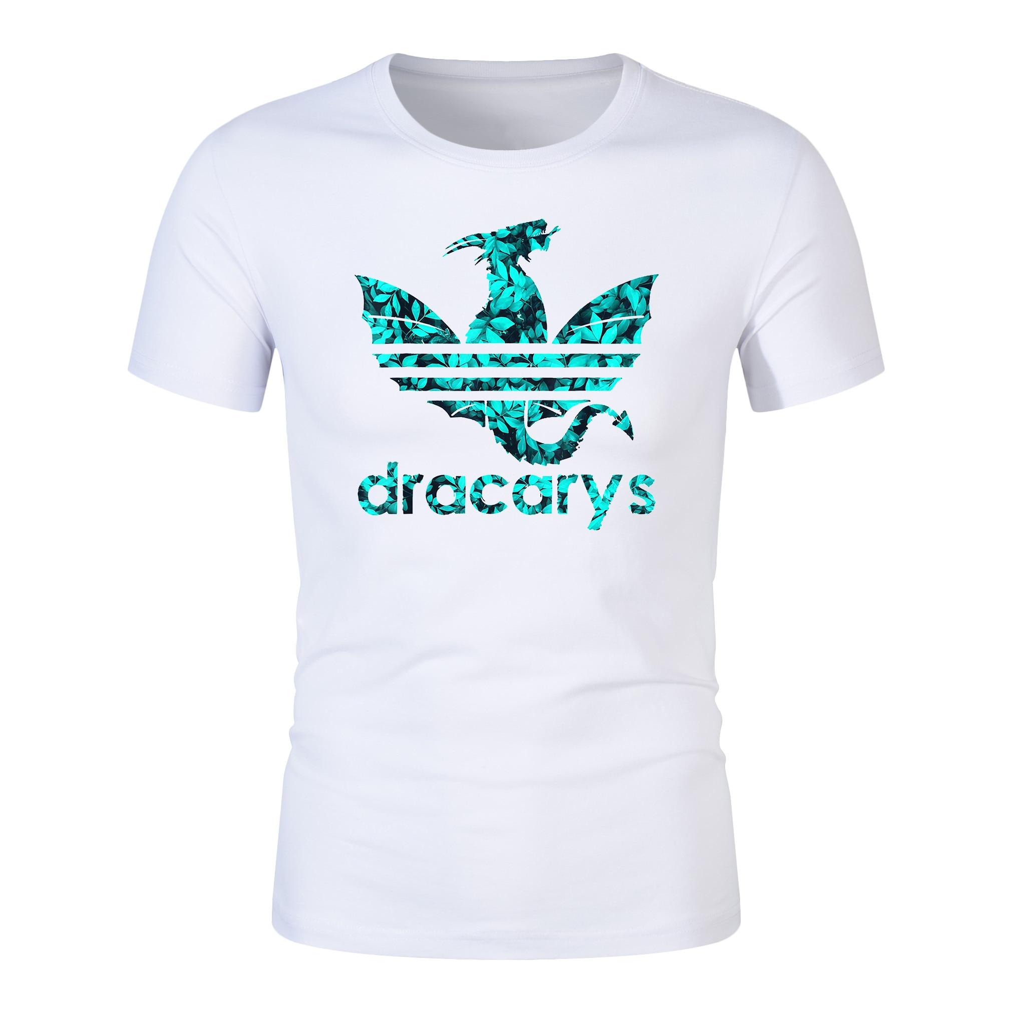 Dracarys Tshirt Brand Shirt Game Of Thrones T Shirt Harajuku Vintage T Shirt Camiseta Hombre Tshirt Men Women Dracarys Shirt