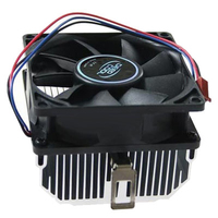 Super Mute 2800 RPM 12V CPU Cooler Aluminium Computer Rediator Heatsink PC Cooling Fan For AMD