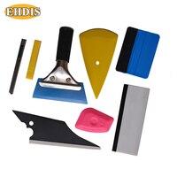 EHDIS Squeegee Scraper Car Tinting Tools Window Tint Vinyl Film Wrap Installation Tools Kit 7pcs Auto