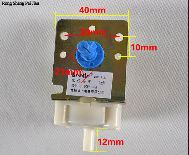 For Sanyo Rongshida Little Swan Washing Machine Water Level Switch Kd4-10b 4-speed Mechanical Type Level Sensor Home Appliances