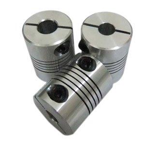 4 PCS/LOT, 8mm to 8mm Flexible Shaft Coupling 8*8mm Clamp for Coupler Servo Step Motor Diameter 20mm Length 25mm #050016 15mm to 20mm flexible shaft coupler clamp cnc starter shaft coupling connector diameter 50mm length 68mm