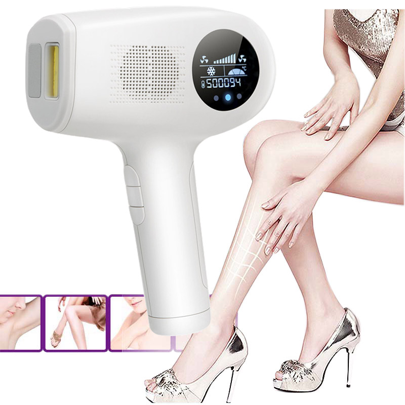 Newest ICE Cold IPL Hair Removal Laser LCD 500000 Flashes Epilator Permanent Bikini Trimmer Electric depilador a laser