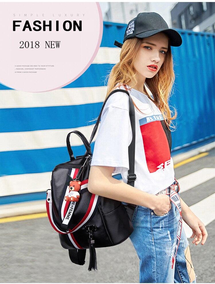 2018 New Retro Fashion Ladies Backpack-0002
