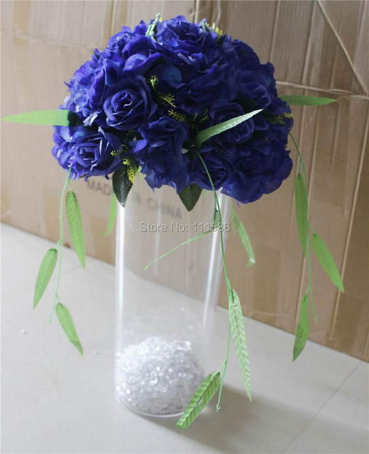 Online Shop SPR Free shipping!10pcs/lot royal blue wedding table ...
