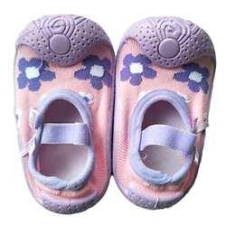 Детские носки для пола Нескользящие резиновые носки для маленьких девочек дышащие хлопковые носки на резиновой подошве Носки для малышей