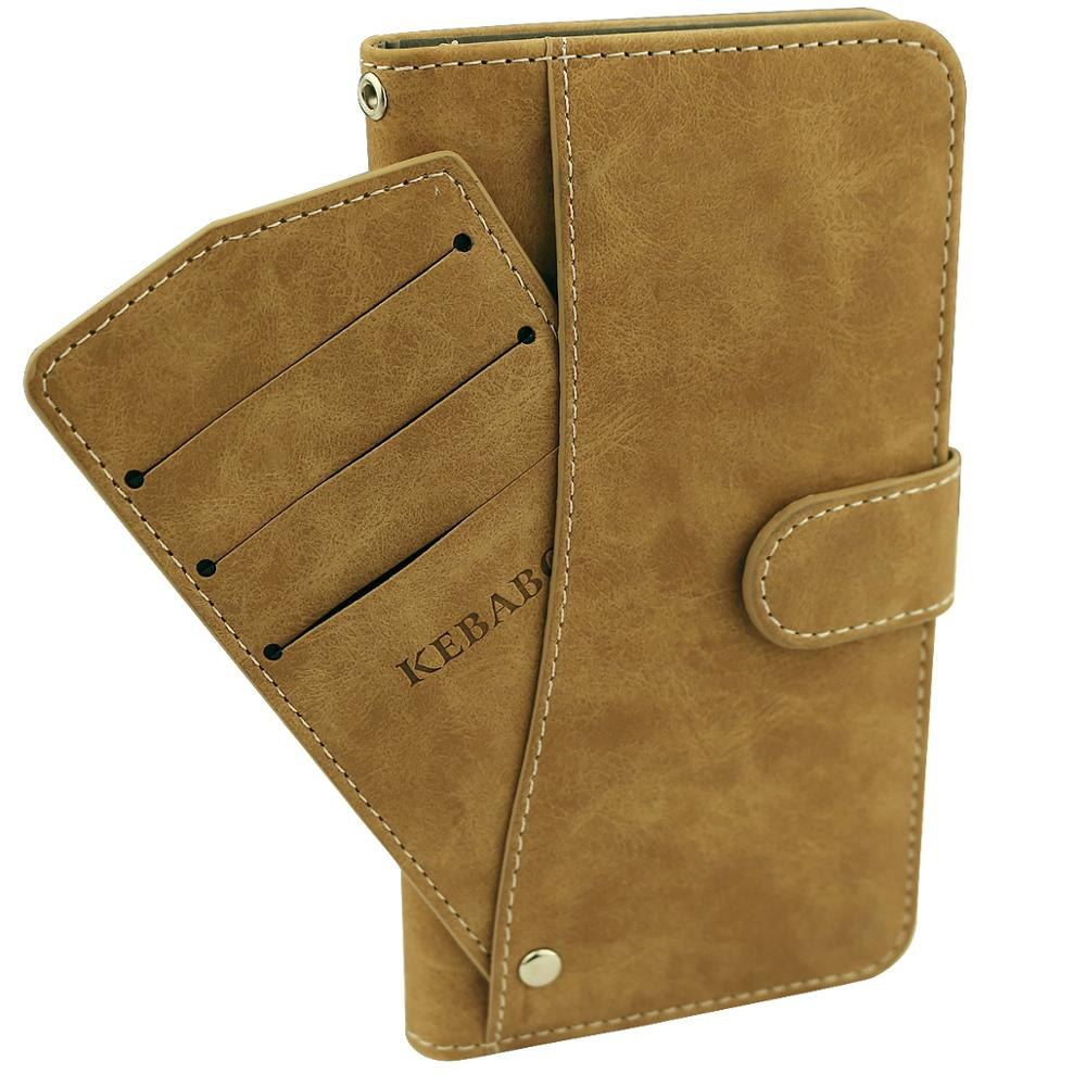 Vintage Leather Wallet WIKO JERRY3 5 45 quot Case Flip Luxury Card Slots Cover Magnet Stand Phone Protective Bags in Wallet Cases from Cellphones amp Telecommunications