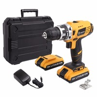DEKO 18V DC New Design Mobile Power Supply Lithium Battery Cordless Drill Power Tools Electric Drill