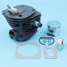 44mm Cylinder Piston Pin Ring Kit For Husqvarna 350 351 353 346 Jonsered CS 2150 2149 2152 2153 Chain Saw Nikasil Plated Parts