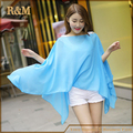 Women's Multi-functional Shawl Smock Sunshading Cover-ups Beach Wear