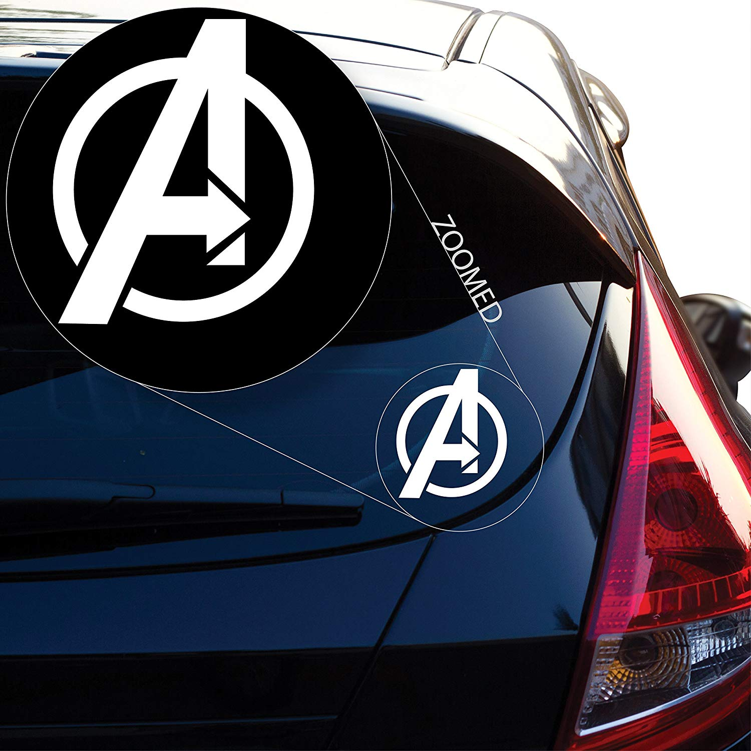 Graphics Avengers Decal Sticker for Car Window Laptop and More in Car Stickers from Automobiles Motorcycles