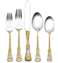 Australia Royal Albert Old Country Roses direct mail gold Western knife and fork