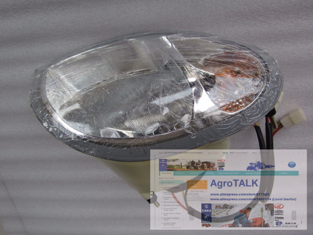 YTO 504-904 tractor parts, set of head lamp Left +Right , part number: