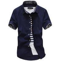 MarKyi 2017 verano manga corta floral para hombre vestido Camisas talla grande 5xl ajustado fit casual Camisa social hombres buena calidad