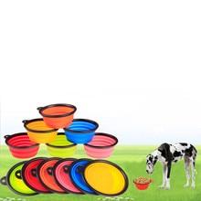 Outdorová silikonová miska na vodu pro psy – více barev