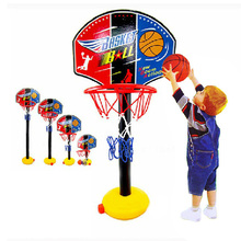 Children Basketball Stand Portable Backboard Height Adjustable with Inflator Basquete Game Set Boys Indoor Sports