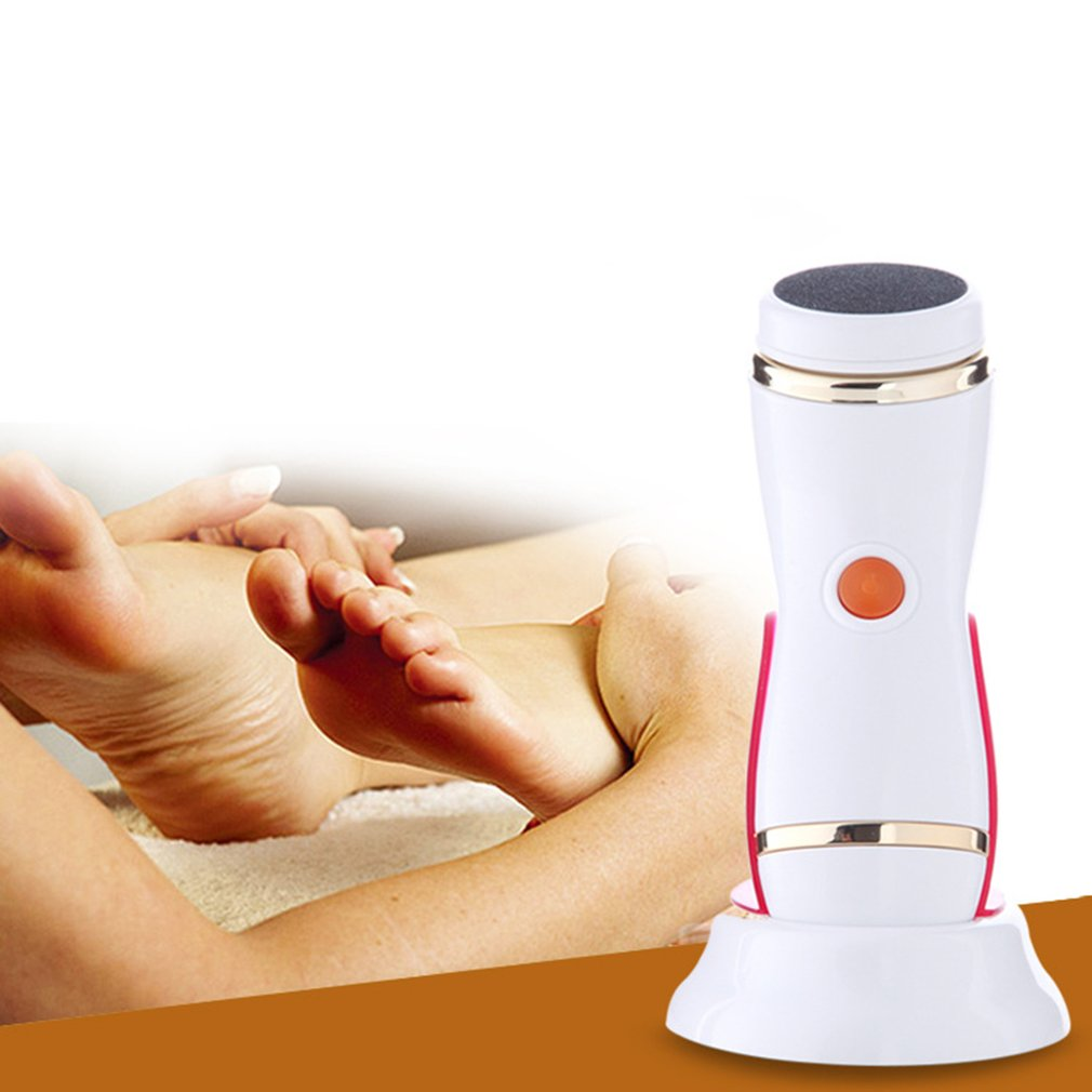 Electric Foot Massager Feet Pedicure Tools Rechargeable Waterproof Callus Deadskin Removal Health Care Beauty SPA Device kongdy 12 pieces 2 boxes corn callus remover patch feet care medical plaster health care corn cutter foot callus removal tools