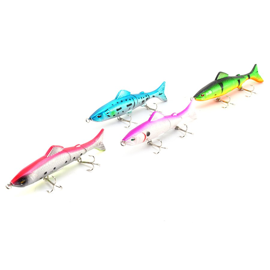 Freshwater fish medicine - 1pcs Freshwater Fishing Lures Fish Lure Topwater Popper 4 Minnow Bass Bait Tackle Treble Barb