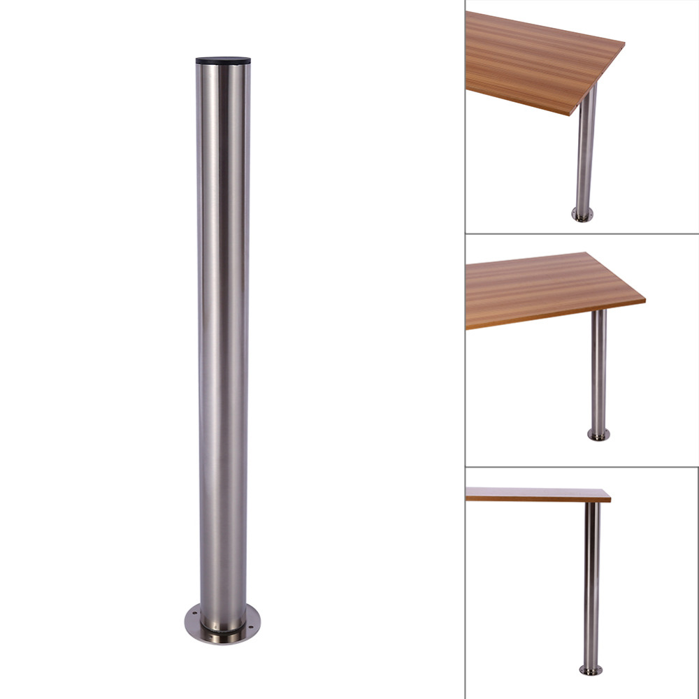 Superieur Brushed Steel 710 1100MM Adjustable Table Leg Breakfast Bar Stands Kitchen  Worktop Support New Furniture Legs In Furniture Legs From Furniture On ...