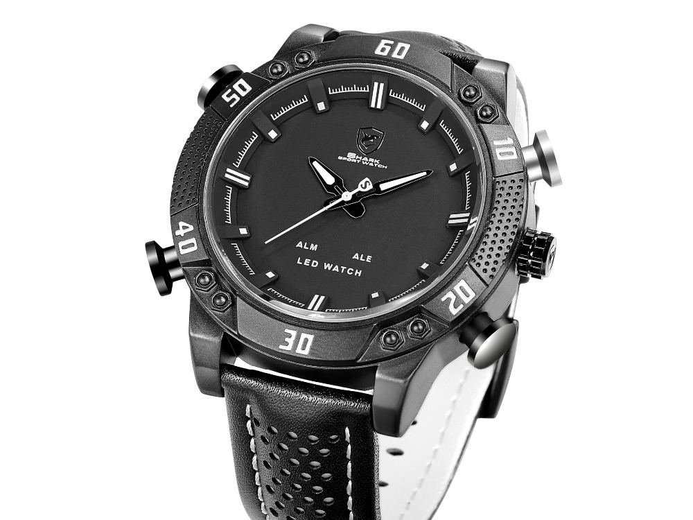 modern productimage for made dial watches men picture pvd swiss leather xetum tyndall black white and