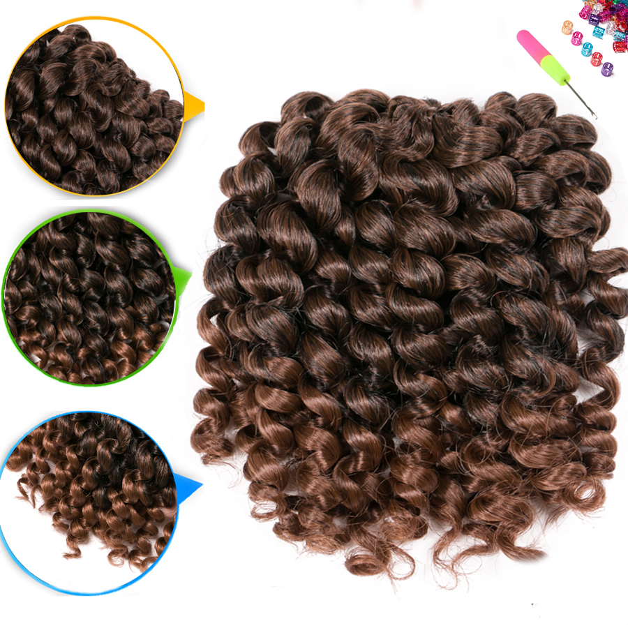 Crochet Braid Hair wand curl