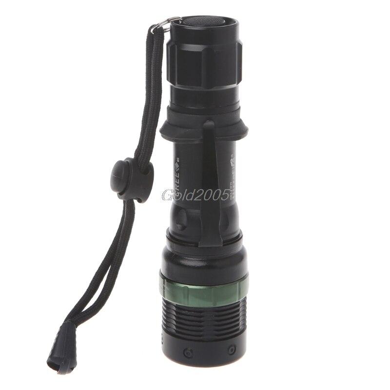 Ultrafire 5000LM Zoomable XM-L T6 LED Flashlight Torch Super Bright Light G07 Drop ship краци найв кондиционер для волос с экстрактом алоэ 400мл запасной блок