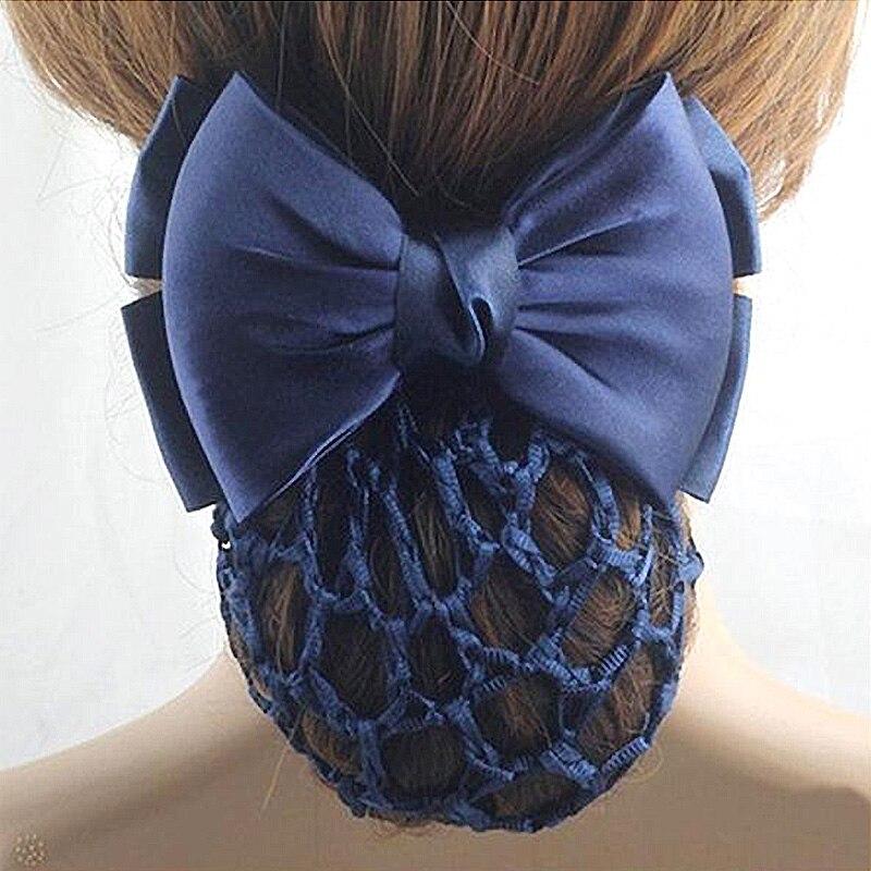 Fashion Bowknot Hairclips Stewardess Bank Staff Nurse Professional Network Flower Clip Bows   Headwear   Women Hairpin Accessories