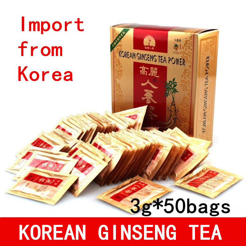 Korean Ginseng Tea Red Ginseng Tea Panax Ginseng Korean Red Ginseng Extract Tea