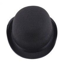 Черный Магическая шляпа» в британском стиле войлочные шляпы и праздника вечерние производительность джаз шляпа Хэллоуин реквизит общие для обувь для мужчин и женщин
