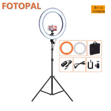 Fotopal Ring Light 240 pcs LED Video Studio Lamp Lighting For Camera Photo Phone Studio Photgraphy Fill Light With Tripod