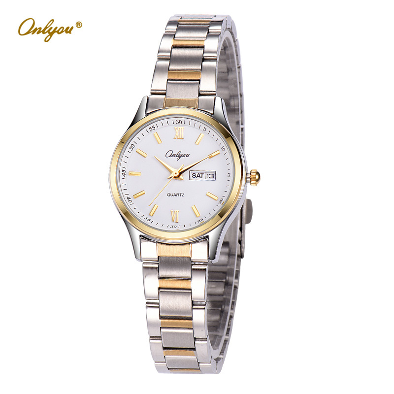 Wrist Watches For Women Quartz Analog Movement Stainless Steel Strap 30m Waterproof Ladies Dress Watch Relogio Feminino 8835 new arrival kezzi brand leather strap ladies watch fashion analog japan movement waterproof quartz watch wrist watches for men