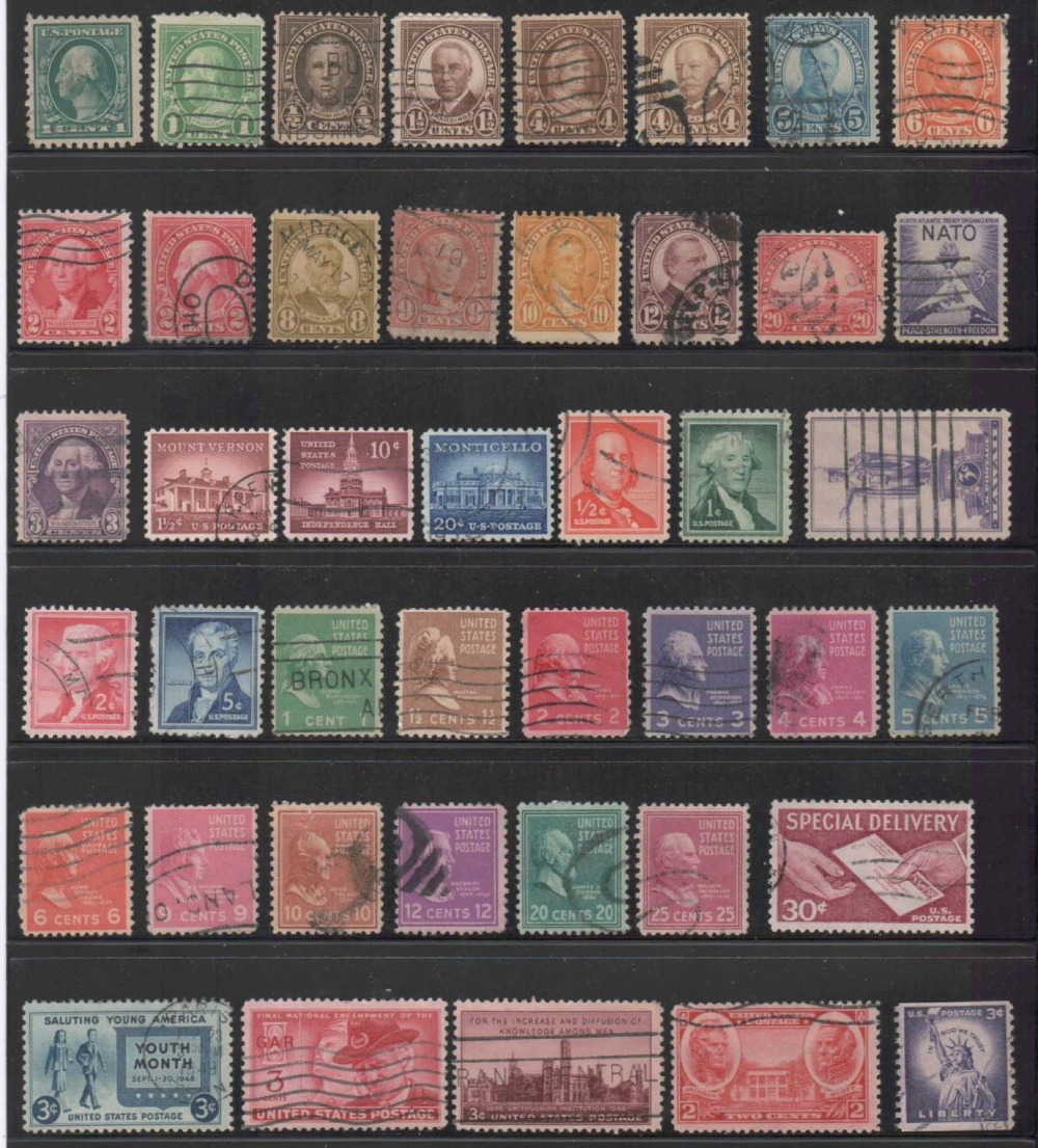 200 PCS  Postage Stamps Brand With PostMark Stamp All Used Clloection Gifts