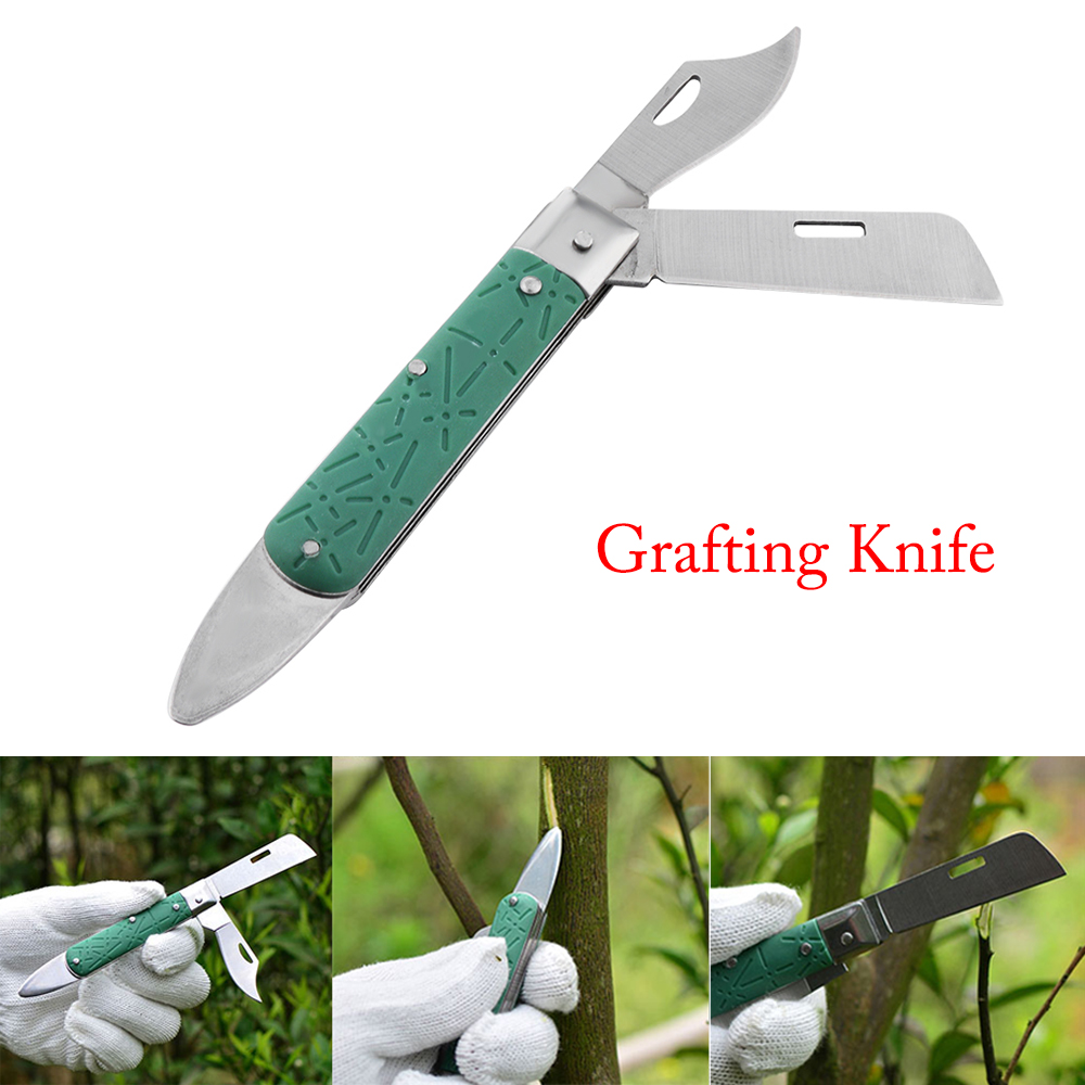 Cutter Plant Fruit-Tree-Tool Grafting-Knife Multi-Functional Folding Pruning Double-Blade