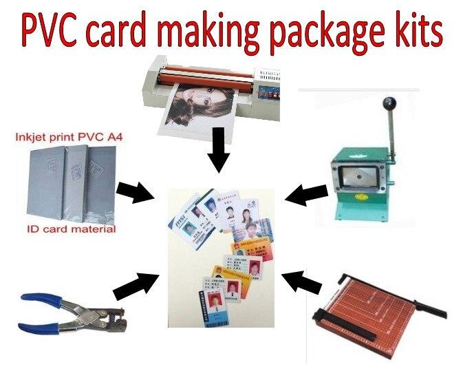 novos kits de ferramentas de cartao de identificacao do pvc que faz a maquina para fazer