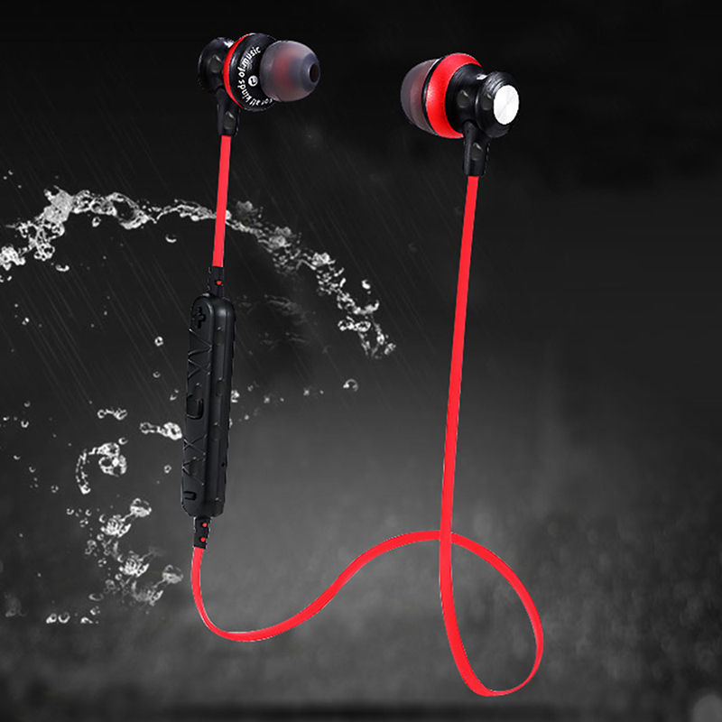 Bluetooth Earphone Wireless Earphones Headphones With Mic Dual Driver Battery 14H Playback Headset For iPhone Xiaomi in Bluetooth Earphones Headphones from Consumer Electronics