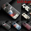 Новая мода мультфильм 3D Рельеф высокое качество Железный Человек Slim Case мягкие TPU Крышка Кожи Для Samsung Galaxy S7 S7 Edge крышка