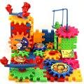 Eléctrica animales bloques de construcción bloques juguetes de los ladrillos de construcción de montaje bloques electrónicos de plástico niños juguetes educativos para niños