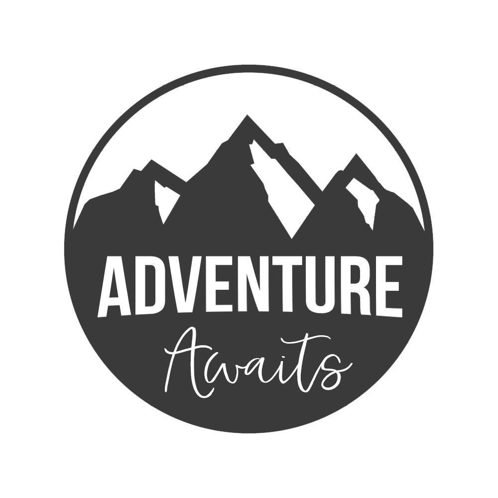 Adventure Awaits Car Sticker Inspiring Travel Vinyl Decor