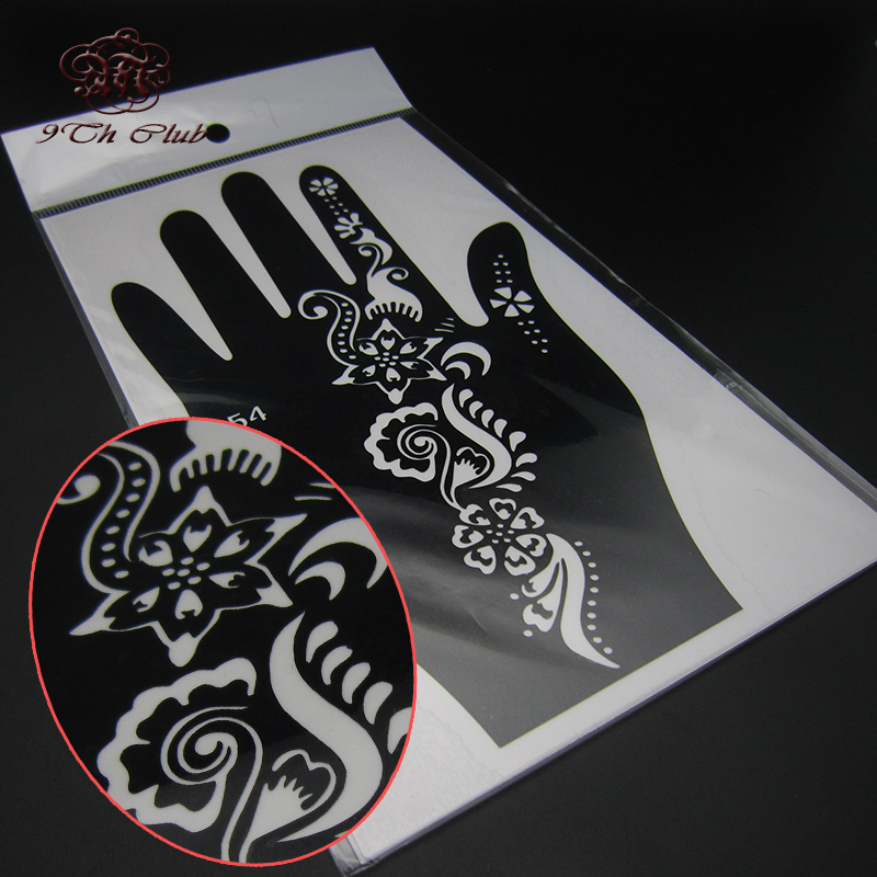 2 para šablona za šablonske tetovaže, lijeva desna velika šablona - Tetovaže i tjelesna umjetnost - Foto 6