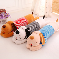 New Hot 70cm/90cm Plush Toy Doll Large Dog Lying Prone To Sleep Soft Stuffed Long Pillow Sweet Birthday Gift for Girls Friends