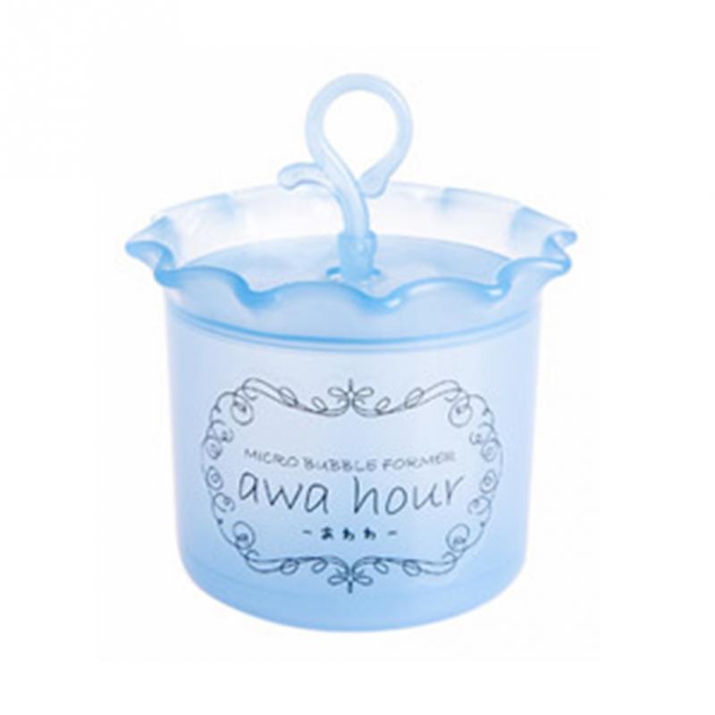 1 шт. высокое качество средство для очистки лица Очищающее пенообразователь чашка пузырьковый Пенообразователь для всех типов кожи - Цвет: Blue