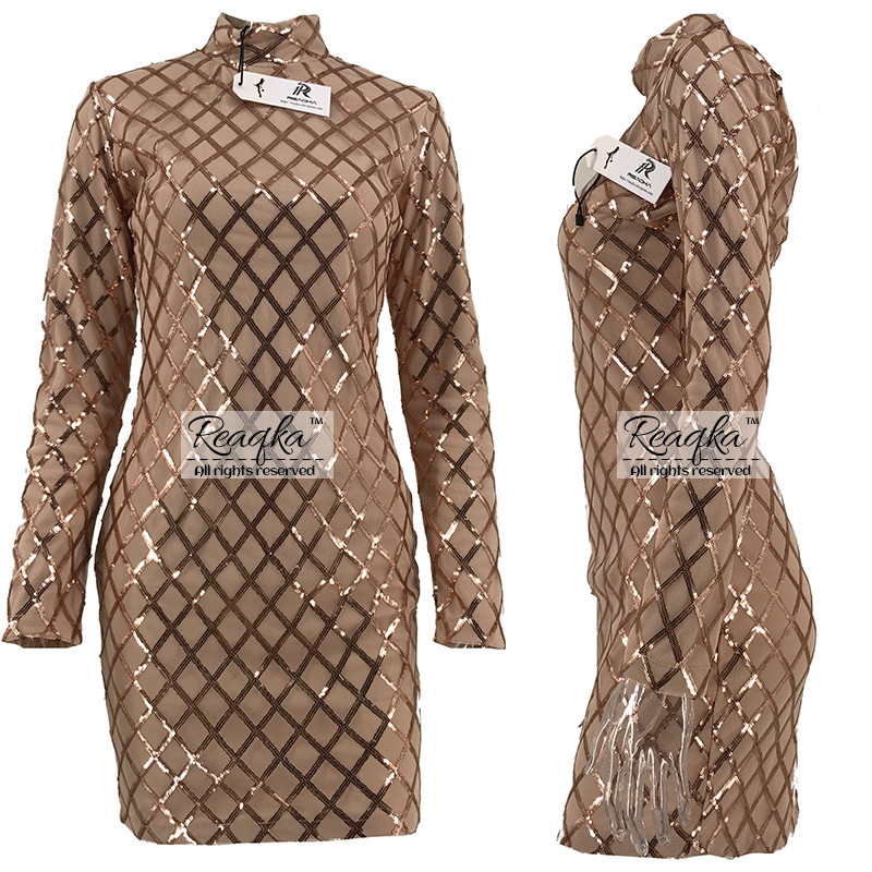 Kuldsete litritega kleidid