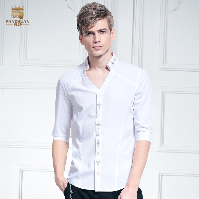 Online Get Cheap Half White Shirt for Men -Aliexpress.com ...