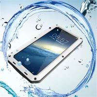 HL 2018 Waterproof Shockproof Aluminum Metal Case Cover For IPhone X Drop Shipping Sep21