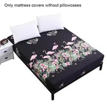 Queen King Flamingos Mattress Protector Mattress Waterproof Cover BED BUG PROTECTOR COVERS Home Accessories Wholesale(China)
