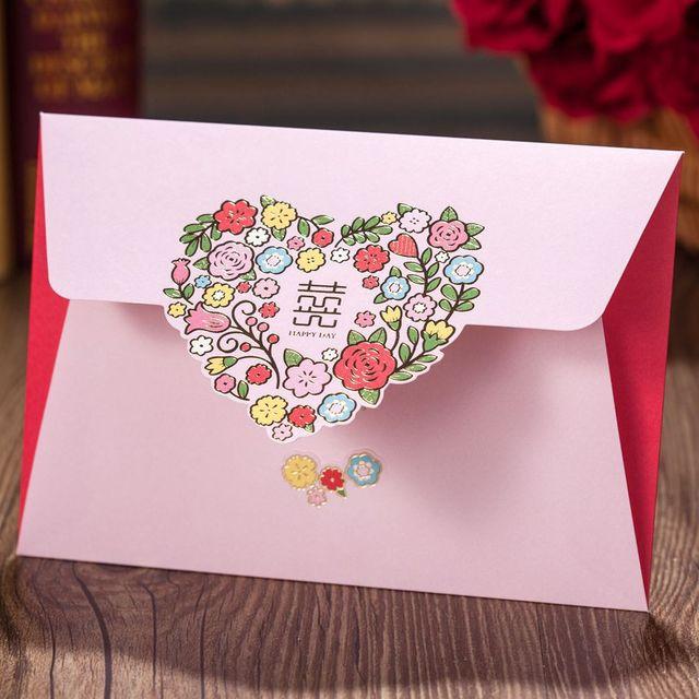 Square Lace Wedding Invitation Card Customizable Wedding Invitations