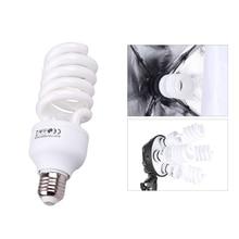 E27 Video Light 220V 5500K 45W Photo Studio Bulb Photography Daylight Lamp Photographic Lighting for Digital Camera Photography