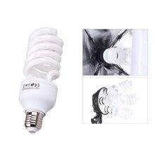 E27 lumière vidéo 220 V 5500 K 45 W Photo Studio ampoule photographie lumière du jour lampe photographique éclairage pour appareil Photo numérique photographie
