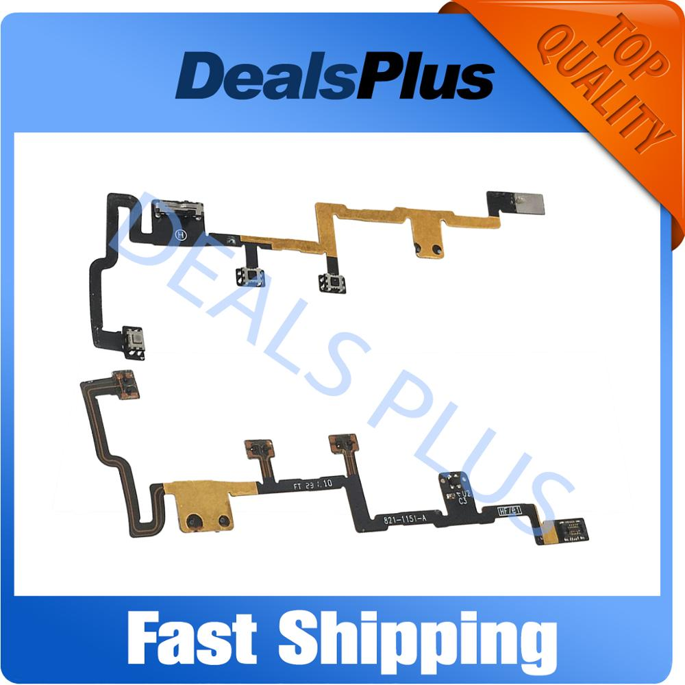 Replacement New Power On Off Volume Button Silent Switch Flex Cable For IPad 2 2011 Version