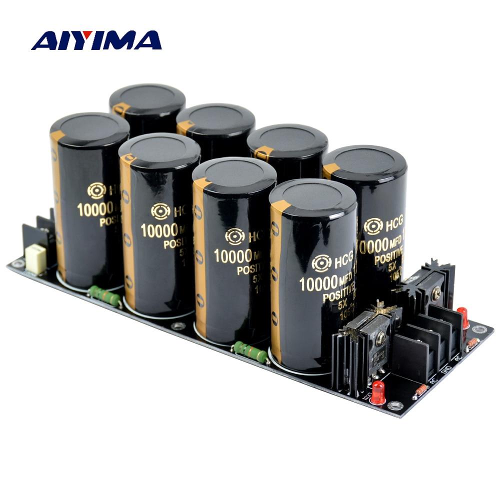 AIYIMA 120A Amplifier Rectifier Filter Supply Power Board High Power Schottky Rectifier Filter Power Supply Board 10000uf 125V-in Amplifier from Consumer Electronics