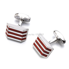 2016 New Wood Cufflinks High Quality Brand Jewelry Fashion Square Rosewood Cuff links For Mens Gift Formal Business wedding
